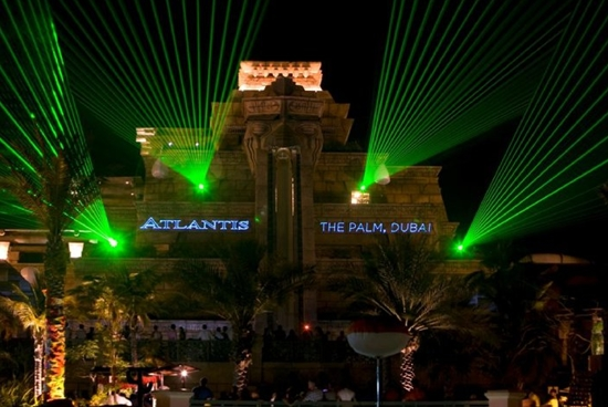 Atlantis The Palm Dubaj, Cool Summer Nights