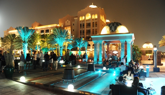 Emirates Palace Abu Dhabi - Breeze Lounge
