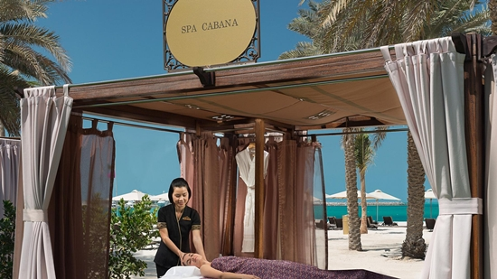 Emirates Palace - Spa Cabana